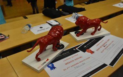 Familien remporte deux prix au Hacking Health Lyon 2017