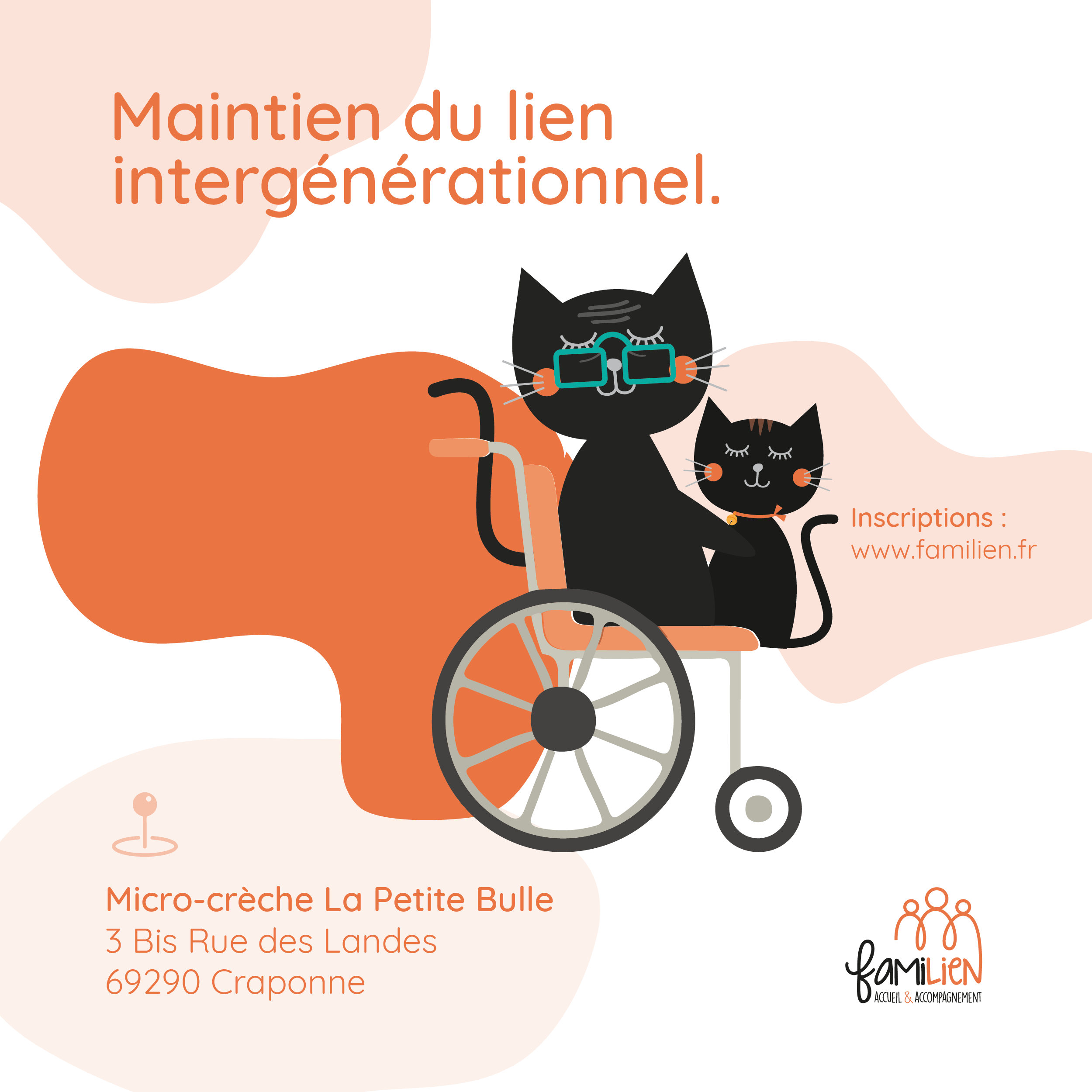 Atelier maintien du lien intergénérationnel